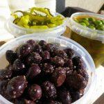 Für mich das beste überhaupt: Frische Olivem vom Markt